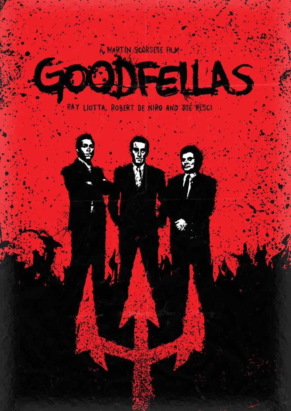 movie poster fan art goodfellas tallenge hollywood poster collection framed prints