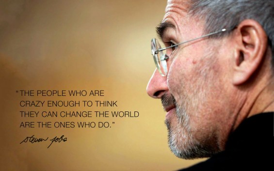 Image result for crazy to change the world apple