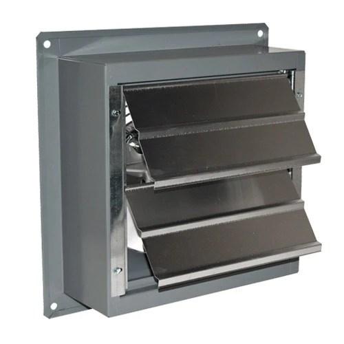 airflo sf exhaust fan w shutters 8 inch 367 cfm 2 speed sf08b2 industrial fans direct