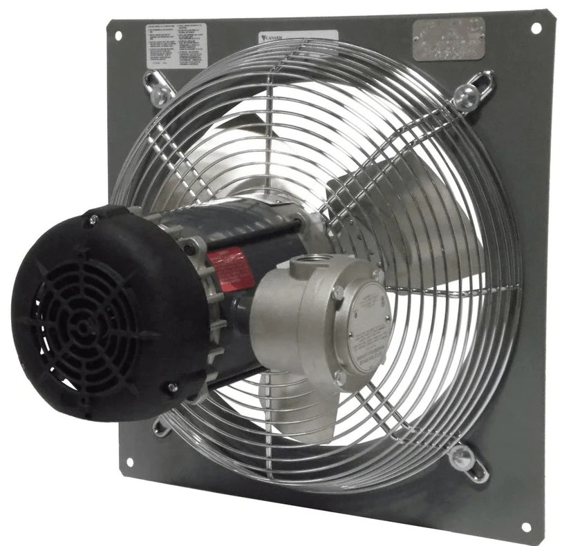 wall mount panel type exhaust fan 10 inch 2 speed 690 cfm direct drive p10 3