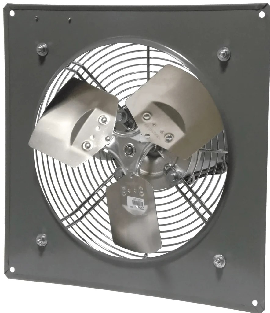 explosion proof wall mount panel exhaust fan 24 inch 5520 cfm direct drive p24 4