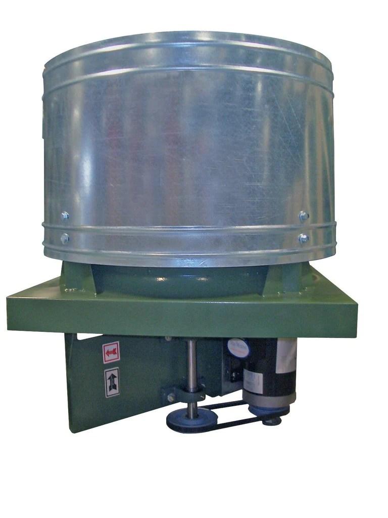 rb upblast roof exhaust fan 48 inch 36068 cfm belt drive 3 phase rb48t30750m