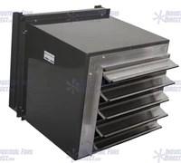 spark proof filtered wall exhaust fans