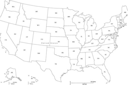 usa map with states black and white » 4K Pictures | 4K Pictures ...
