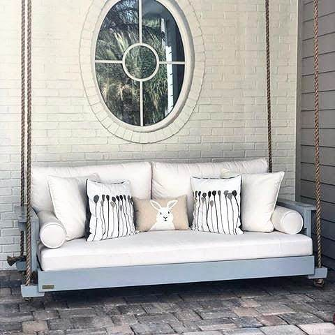 porch swing beds outdoor hanging bed
