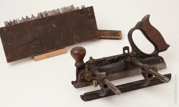Stanley No 45 Combination Plane Type One With 18 Cutters