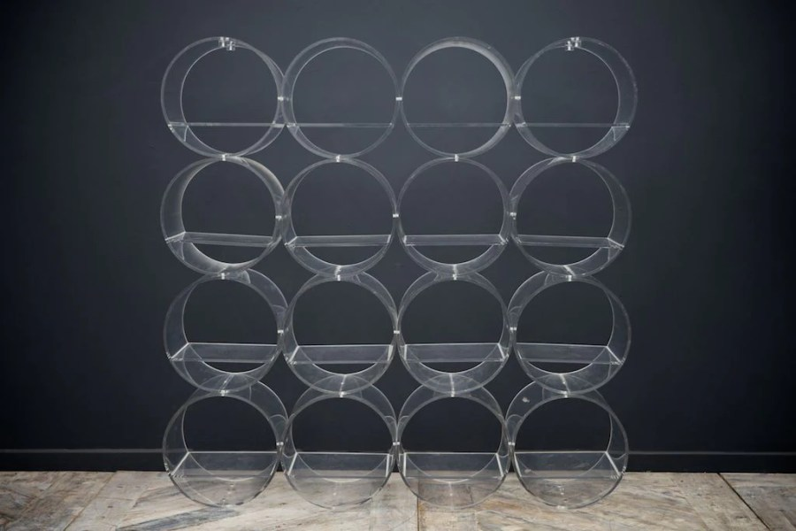 Clear Acrylic Shelving     Drew Pritchard Ltd Clear Acrylic Shelving