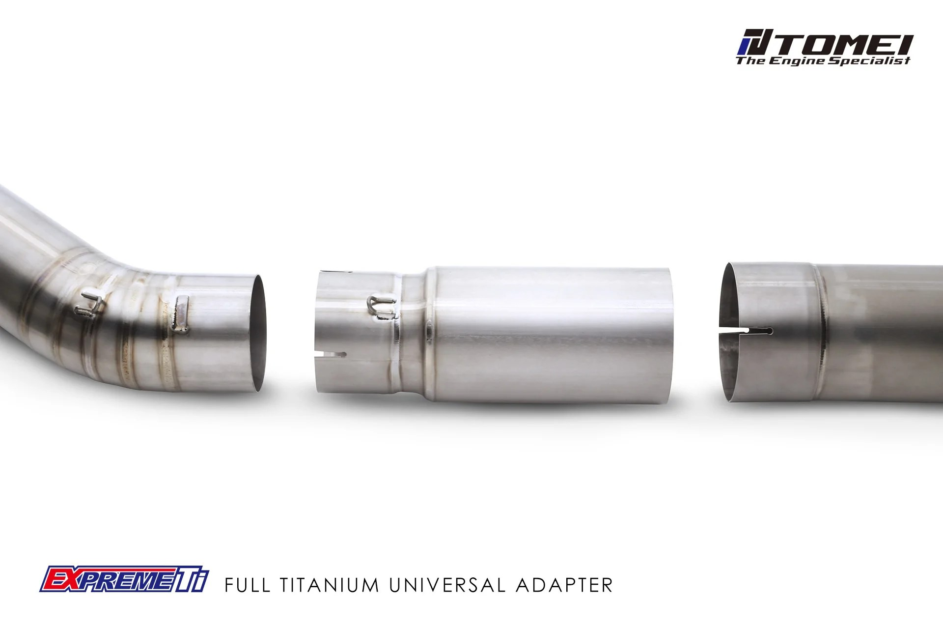 tomei expreme titanium 4 inch exhaust pipe adapter for toyota supra jza80