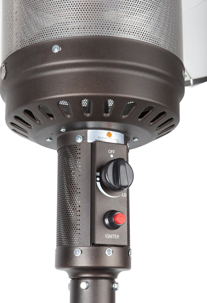 Mocha Finish Commercial Patio Heater (Costco.com Exclusive ... on Costco Outdoor Fireplace id=70356