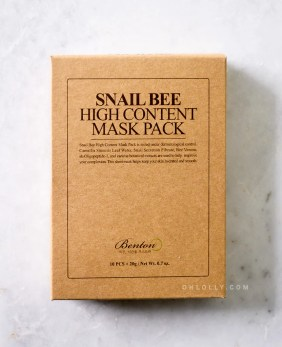 Image result for Benton Benton Snail Bee High Content Sheet Mask Pack
