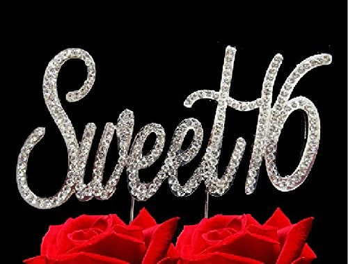 Sweet 16 Birthday Bling Sweet Sixteen Party Supplies Centerpiece Cake Alices Supplies