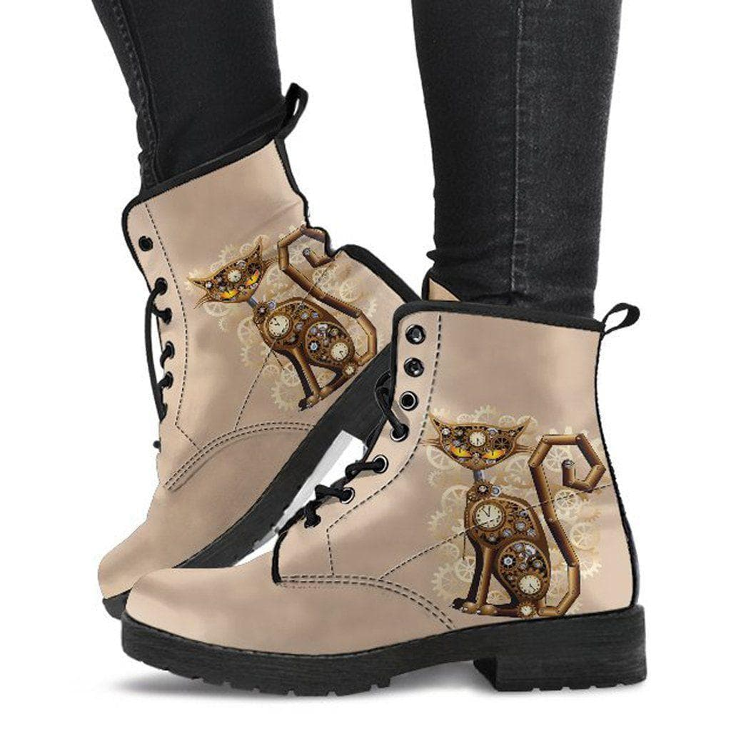 Steampunk Cat Women Boots CLEARANCE SALE - US Customers ...
