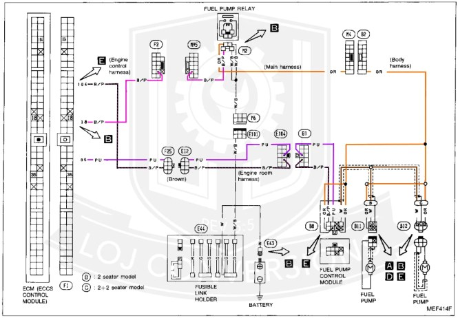 28   300zx ecu wiring diagram 300zx