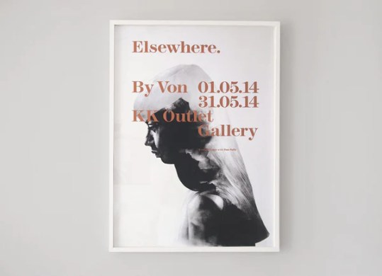 Elsewhere  Collaborative Exhibition Posters     ShopVon  Elsewhere  Collaborative Exhibition Posters   Screen Print   by London  artist Von     www