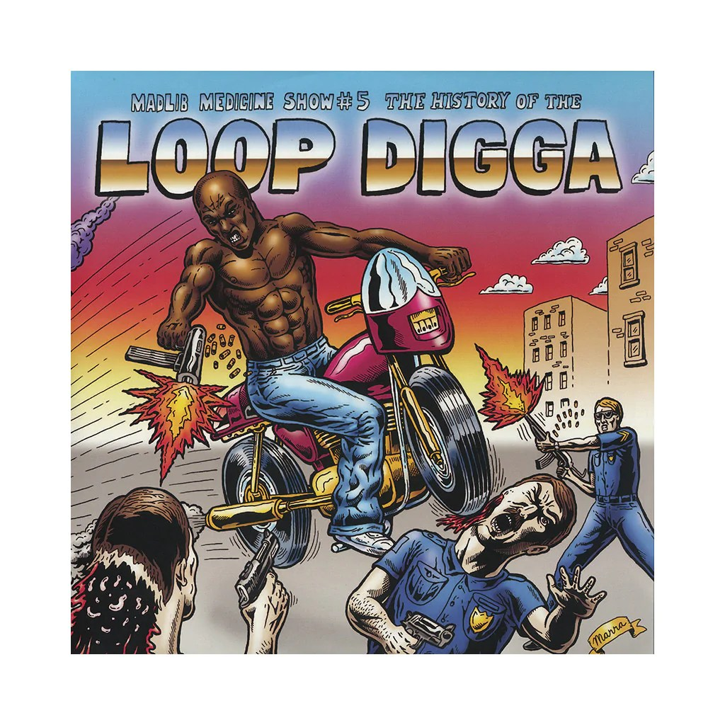 """The history of the Loop Digga"", 2010, e uma capa icônica."