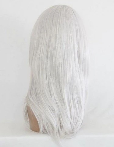 women shoulder length full wigs party hair cosplay wig white nw03 2 chickadee solutions
