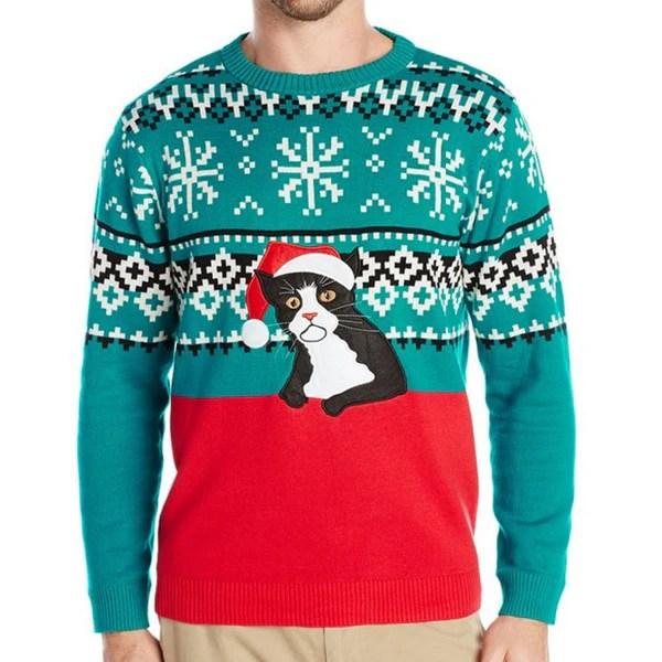 Fairisle Kitty Sweater - Ugly Christmas Sweaters - Holiday Fury