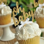 Oh Baby Cupcake Topper 1 Set Of 12 Toppers Made In 1 3 Business Days Oh Baby Gender Neutral Baby Shower Decoration