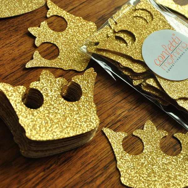 Royal Prince Birthday Party Supplies Little Prince Crown