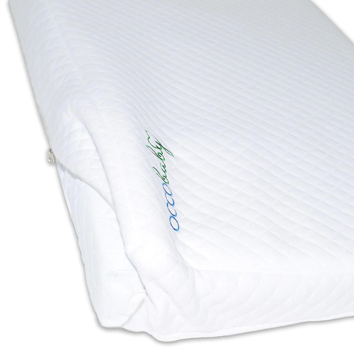 universal crib wedge pillow