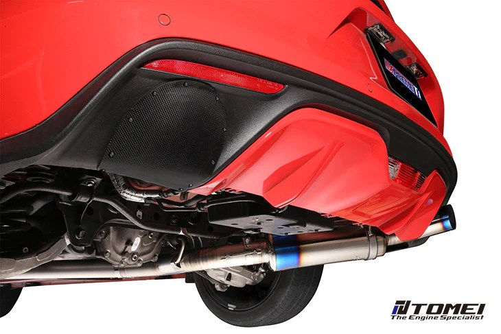 tomei carbon fiber rear bumper cover for 2015 ford mustang ecoboost fastback