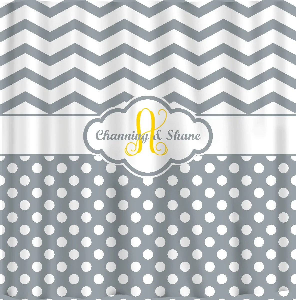 personalized shower curtain neutrals any colors your personalization and accents