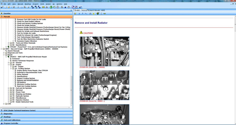 John Deere Service Advisor 4.2 CF Construction 2016