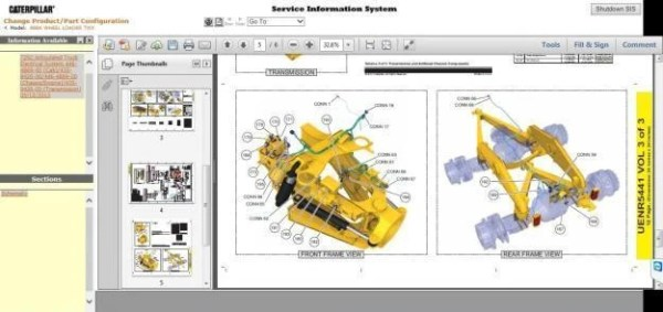 free caterpillar engine manuals online # 33