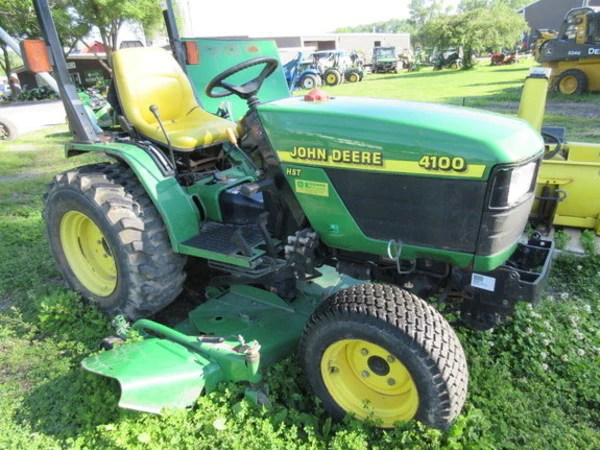 john deere 4100 tractor official operator's manual – the