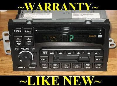 MINT 19952002 BUICK Park Ave ROADMASTER REGAL CD CASSETTE
