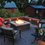 How To Build A Square Fire Pit With Pavers Barbeqa