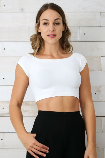 Seamless Off Shoulder Top