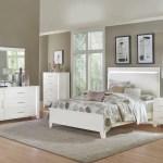 Keren White King Bedroom Set Regency Furniture