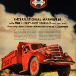 1939 Ad International Truck Harvester Heavy Diamond Art Original Lf3 Period Paper
