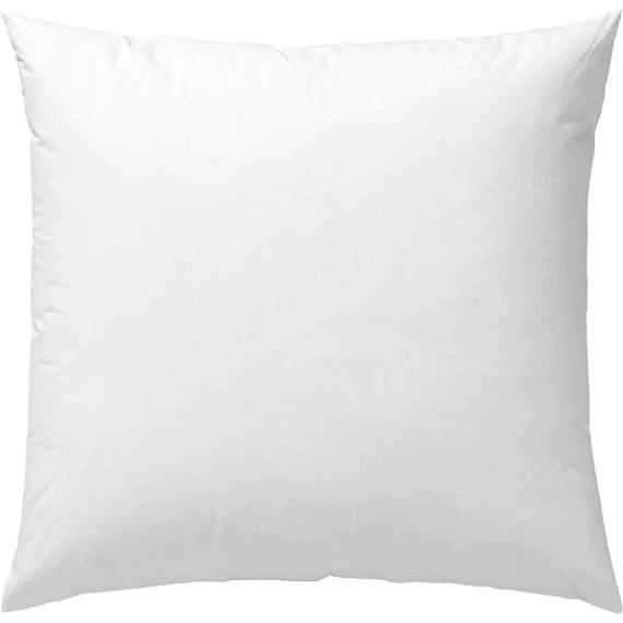 pillow bolster insert forms neo