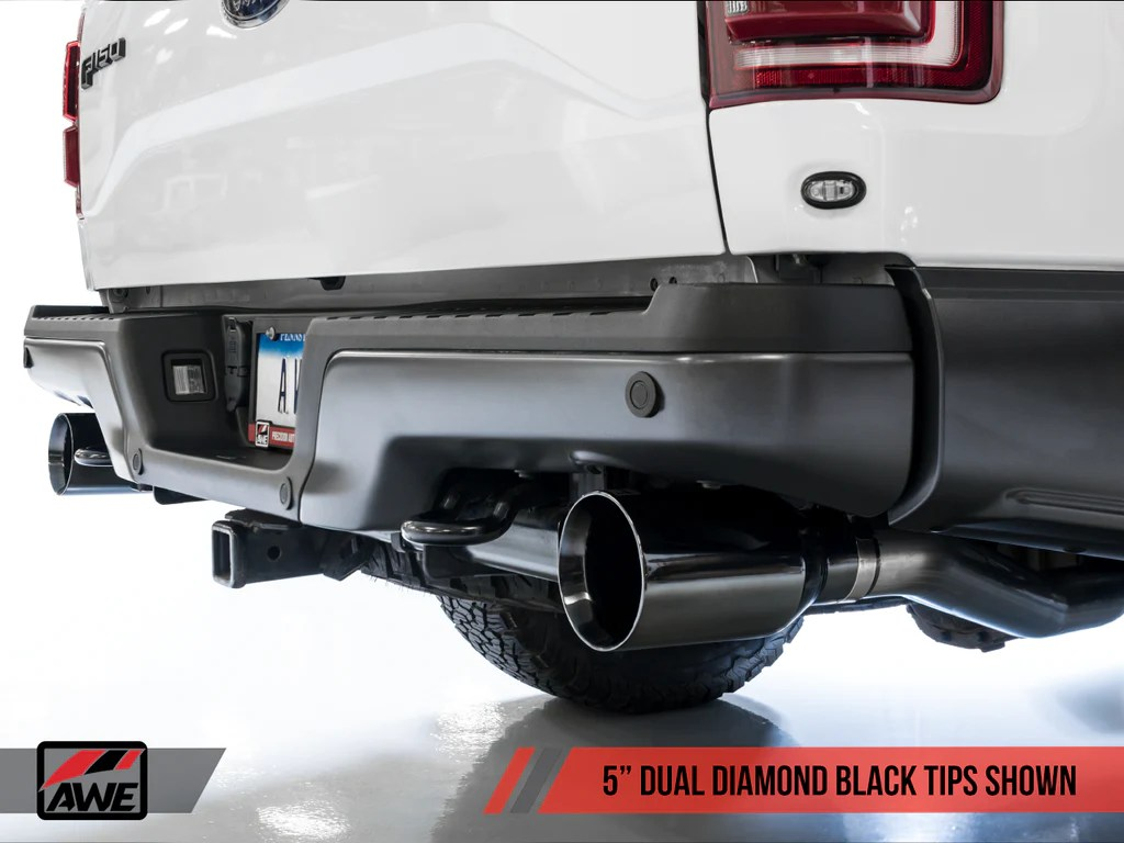 awe tuning catback exhaust for 2017 ford f 150 raptor