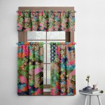 Boho Molly Patchwork Cafe Style Curtains Folk N Funky