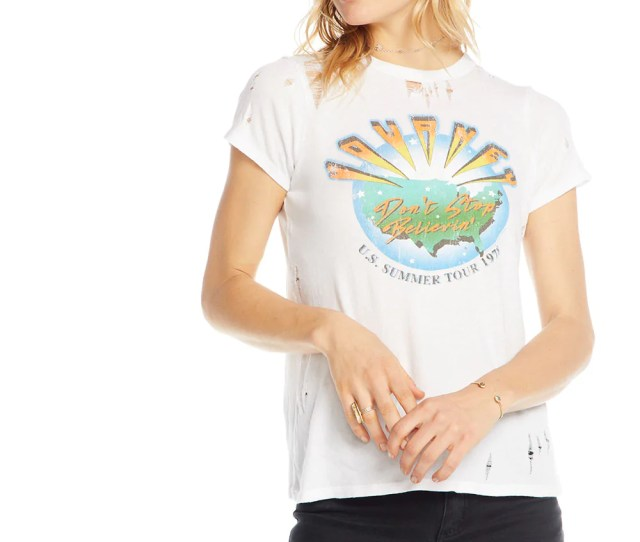Journey Summer Tour 1978 Womens Chaserbrand Comchaser Clothingchaser