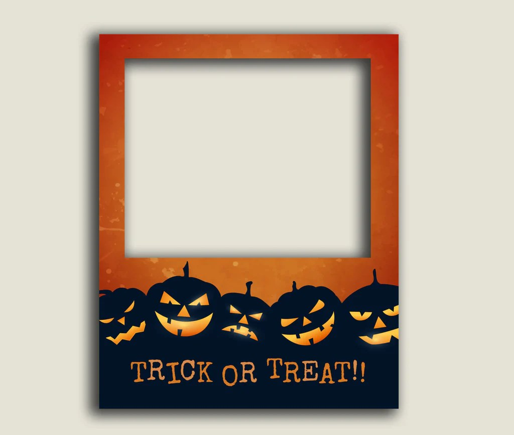 halloween photo booth poster