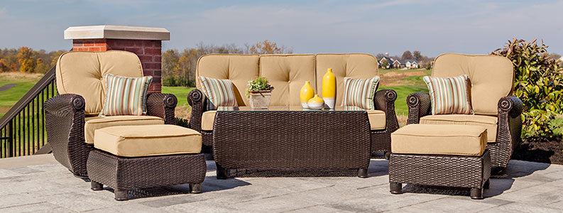patio lounge chairs ottomans la z
