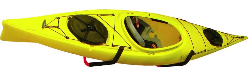 highrise wall mount kayak storage rack 1 set