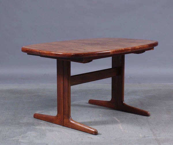 Dining Table Rosewood Mostly Danish Furniture Ottawa