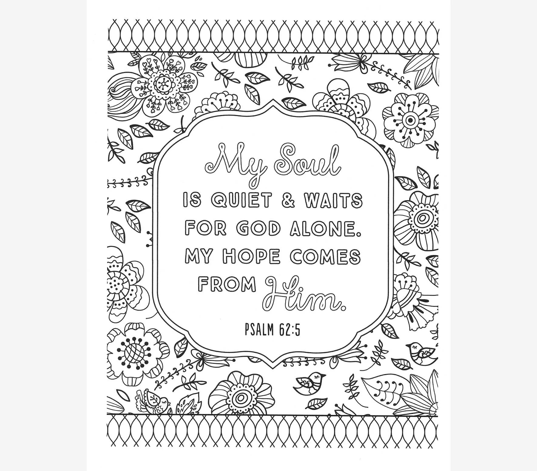 Too Blessed To Be Stressed Coloring Book FairHope Notes