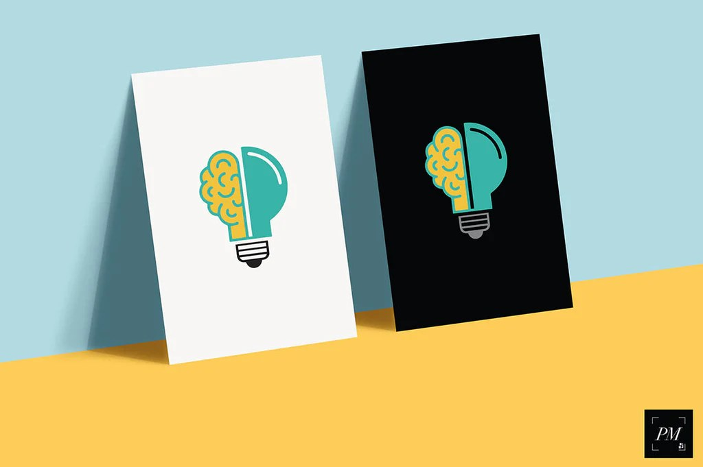 Download Free Mockup A5 Quer Yellowimages