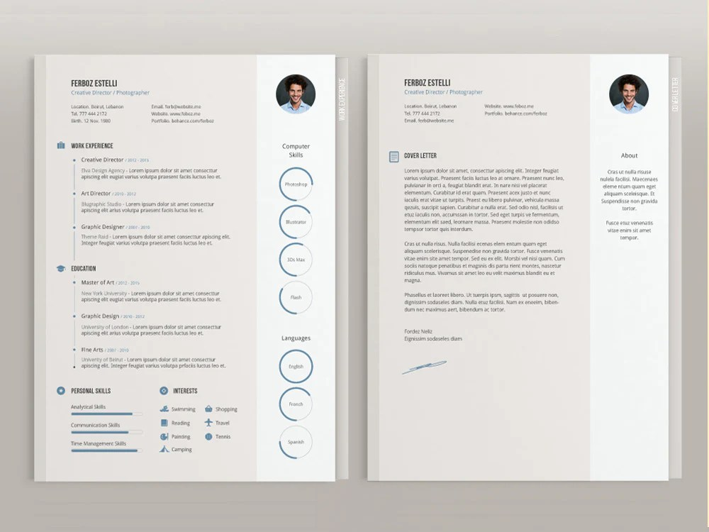 Resume templates are available in photoshop, indesign or adobe illustrator format and ms. Free Resume Templates In Illustrator Ai Format Creativebooster