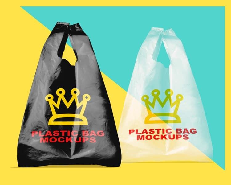 Zipper bag mockup templates are the best solution for you. Free Set Of Plastic Bag Mockups Creativebooster