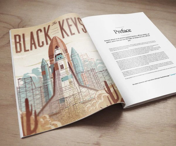 In today's post, we want to present similar mockup for you. Free Magazine On Wooden Floor Psd Mockup Creativebooster