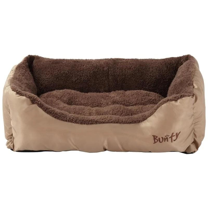 fleece dog bed washable bunty deluxe