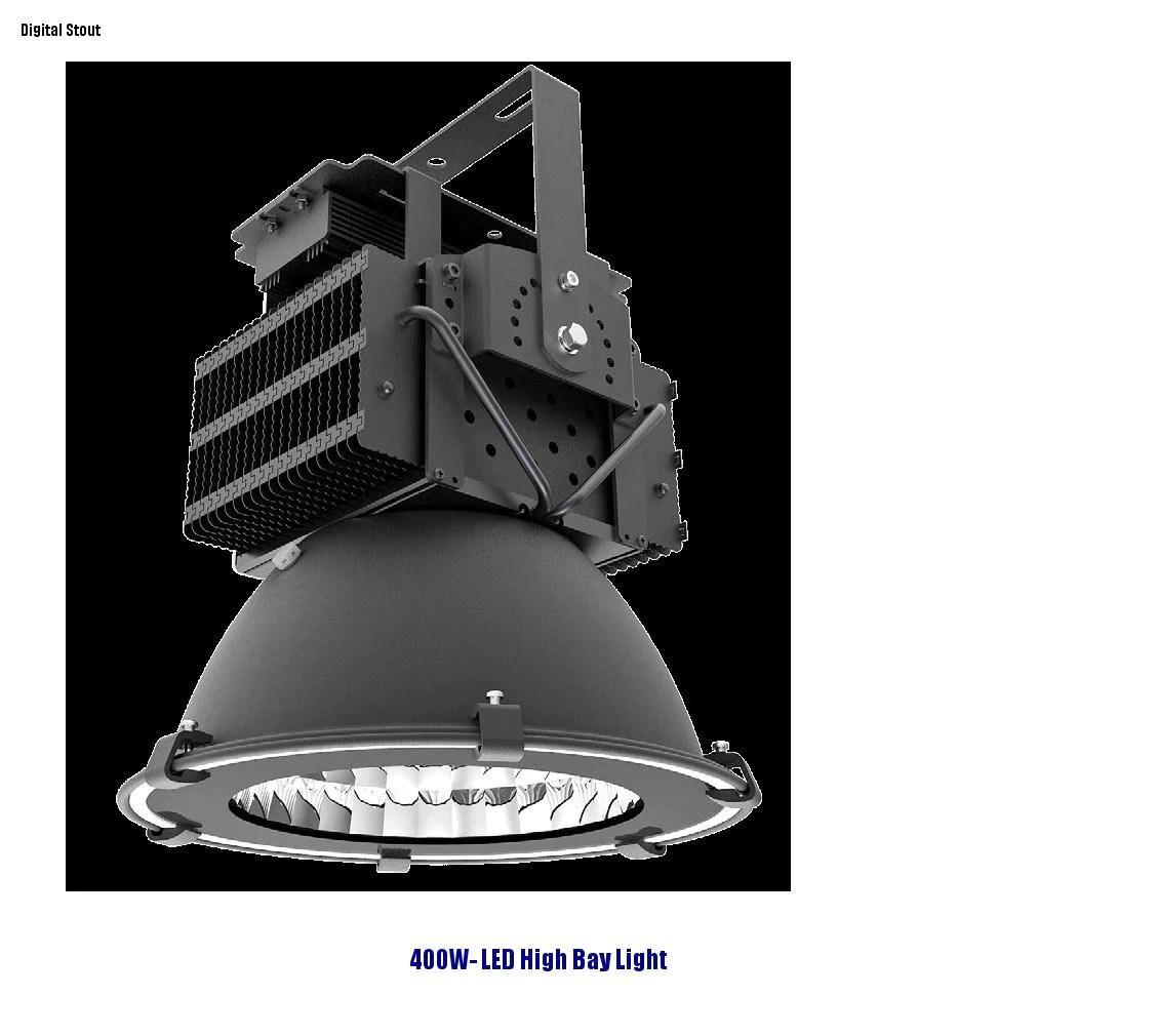 frater 400w led high bay light