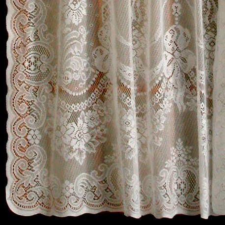 Balmore Cotton Polyester Lace Curtains American Balmore Lace Curtain TB Stores